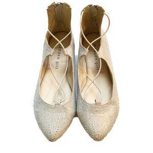 Madden Girl Ballet Flats Size 4